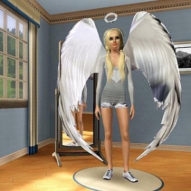 как стать ангелом в симс 3