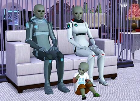 дети от инопланетян