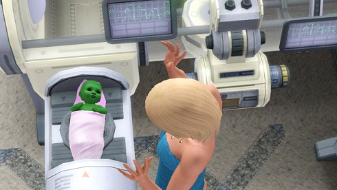 Как в sims 3 стать моложе - d