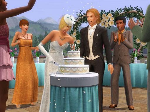 как пожениться в симс 3