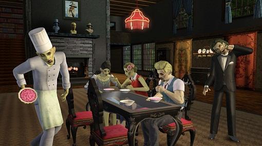 как стать зомби в симс 3